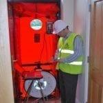 O objetivo do Teste de Estanqueidade é localizar vazamentos e atendimento as Exigências legais: Comprovação da estanqueidade do sistema de gases combustíveis Comprovação em conformidade com a ISO 14001 e OHSAS 18001