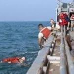 Treinamento Resgate Homem ao Mar