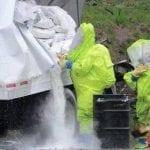 Curso Manuseio, Vazamento Emergência com Produtos Químicos