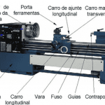 Treinamento Equipamentos Rotativos - Torno Mecanico