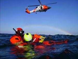 Treinamento de Resgate de Homem ao Mar