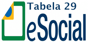 Tabela 29 - eSocial