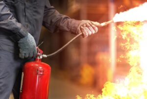 3004 - Treinamento de Utilização de Extintores de Incêndio