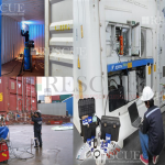 Treinamento Manutenção de Cabos e Plugs de Contêineres