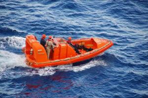 Treinamento Para Resgate de Homem ao Mar