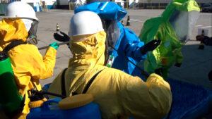 atendimento emergências químicas