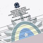Certificado de Registro do Exército – CR: CR do exército