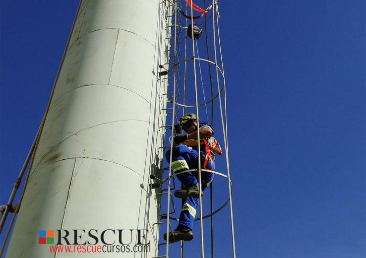Curso Prevenção Riscos nos Trabalhos em Altura