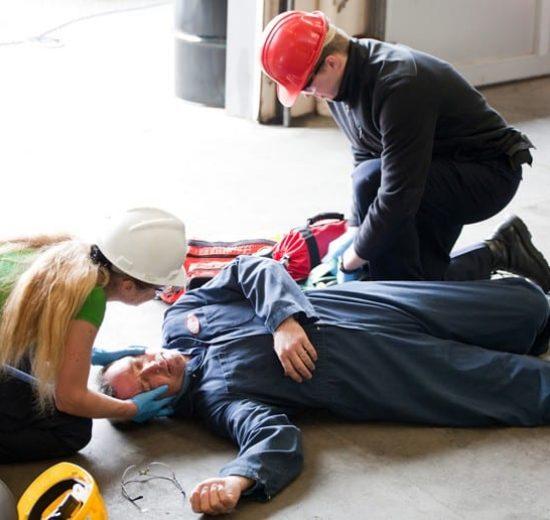 Conteúdo Programático: Treinamento de Primeiros Socorros e D.E.A. Princípios da Psicologia do Comportamento aplicados à Segurança. Parada cardiorrespiratória; Algoritmo Universal; A MRCP -Massagem Cardíaca Externa; Emergências Clínicas; Identificação da Emergência; Importância do SAMU -192; Aspectos Clínicos; Urgências Traumáticas; Trauma; Choque Hemorrágico; Queimaduras; Intoxicações; Desmaios; Sinais Vitais; Convulsões; Autocontrole; Autoproteção; Esmagamento; Afogamento; Desfibrilação; Fibrilação Ventricular: Conceito e Importância; Desfibrilador Automático Externo – DEA; Parada cardiorrespiratória em Crianças; Aspectos legais e éticos do uso do DEA no Brasil;