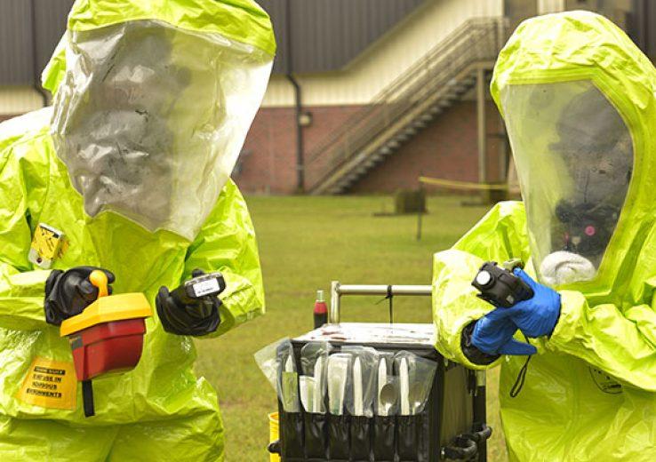 Treinamento Emergências Químicas