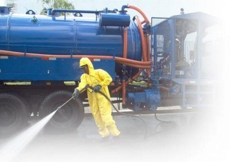 Treinamento como operar caminhão de hidrojateamento